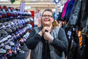 Laatutakuu-yrittäjä Marinka Rossi-Korhoselle yrittäjyydessä on tärkeää etenkin vapaus.