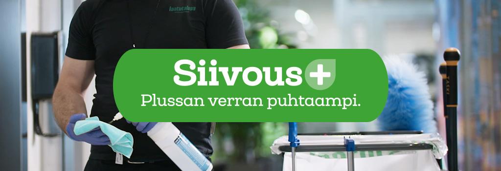 Siivous+ Plussan verran puhtaampi
